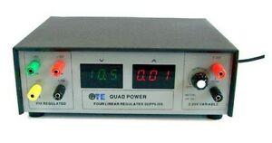 Xp 581d Quad Digital Variable Linear Dc Power Supply Speciall