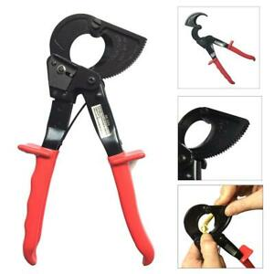 Hs 325a 240mmmax Electrical Ratchet Wire Line Cable Cutter Plier Cutting Tool