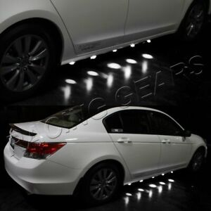 Underglow Under Car 90 Led Brabus Style White Puddle Lighting Lamps Undercar