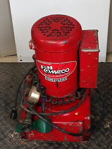 F m Mafco Greenlee Portable Electric Hydraulic Pump With Matlock 1 5 Hp Motor