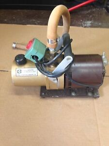 Central Scientific Company 1 4 Hp Bench Top Vacuum Pump Model 90703 001