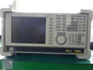 Tektronix Rsa3408b Opt 06 21 29 L5 A6 02 03 05spectrum Analyzer Real Time