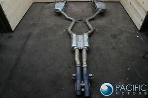 Exhaust System Muffler Assembly 2164901721 Oem Mercedes Cl63 Amg W216 2008 10