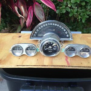 1960 Corvette Original Gauges All 4 Price Reduced To 850 Fits 1958 1962