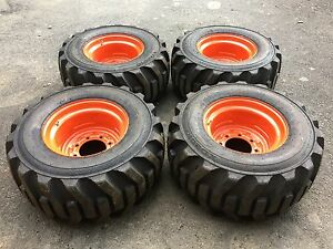33x15 5 16 5 Galaxy Skid Steer Tires Rims wheels 33x15 50 16 5 For Bobcat Etc