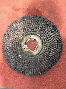 Used 17 Tufted Pad Driver Alto Clarke Floor Scrubber Buffer Polisher Maintainer