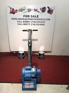 Used Bartell Sp8 e 8 Electric Power Floor Grinder Concrete Polisher Grinding