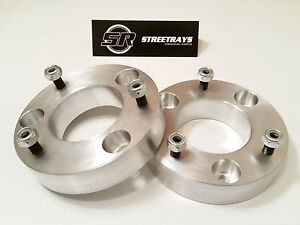 Streetrays 04 16 Ford F150 2 5 Front Leveling Lift Kit 4wd 2wd Strut Spacer