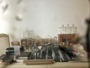 Laboratory Glassware Assorted Flasks Aldirch Schott Chemglass Lot Of 26
