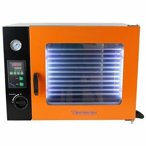 Best Value Vacs 1 9cf Eco Vacuum Oven 4 Wall Heating Led Display Led