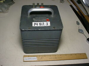 General Radio 1482j Standard Inductor 20 Mh