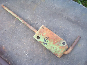 Vintage Oliver 550 Gas Tractor throttle Shaft Mount Plate 1959