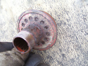Original Massey Harris 444 Tractor rear Axle Vent Cap 1957