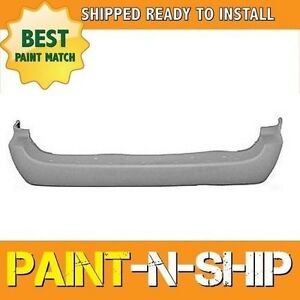 New Fits 2001 2002 2003 Dodge Caravan 119 Wb Rear Bumper Painted Ch1100219