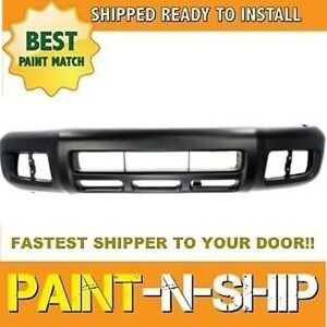 Fits 2000 2001 2002 Nissan Pathfinder Front Bumper Painted To Match Ni1000177