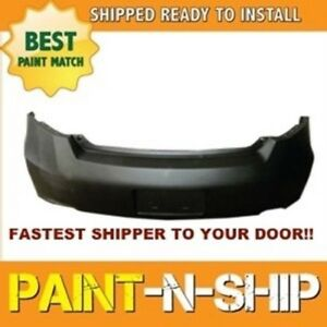 Fits 2011 2012 Honda Accord Coupe Rear Bumper Painted To Match ho1100247