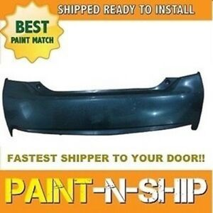 Fits 2012 2013 Toyota Prius Rear Bumper G S Painted To Match To1100280