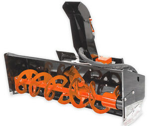 72 6 Snow Blower Attachment Skid Steer Loader Bobcat asv cat gehl case mustang