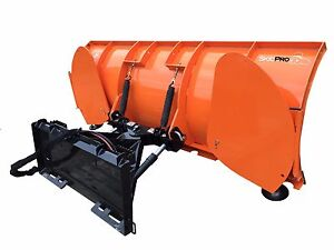84 Skid Steer Snow Blade Attachment Skid Steer Loader Bobcat Kubota John Deere