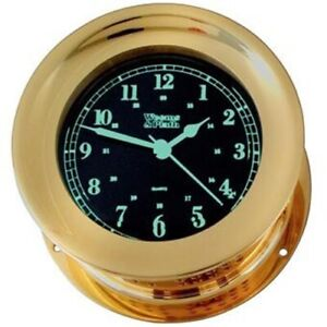 Orion Photo Luminescent Quartz Ship S Bell Clock