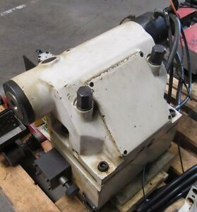 Daewoo Tailstock Assy Removed From Puma 200 Cnc Lathe Tail Stock