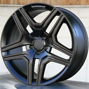 4 set 22x10 5x112 Wheels Tires Pkg M Benz Gl450 Ml550 Gl550 Ml350 Gl450 Ml500