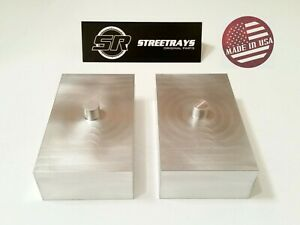 Sr Toyota Tacoma Sierra 1500 Chevy Tahoe 1 5 Billet Rear Lift Blocks Kit