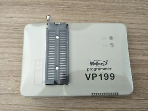 1pc Wellon Vp190 Prom Flash Mcu Programmer Usb upgrade The Vp 199