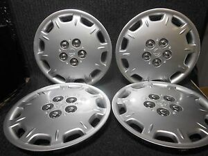 Plymouth Breeze Hubcaps Wheel Covers 1996 1997 1998 1999 2000 14 Set 4 537 1