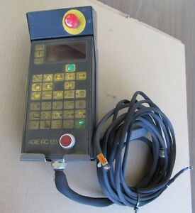 Agie Rc 123 Control Panel Removed From Agiecut Sprint 70 Edm