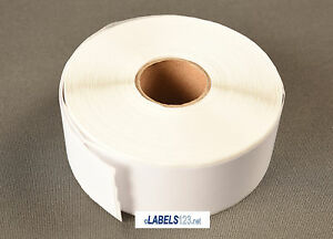 4 Rolls White Shipping Labels 1 X 2 1 8 30336 Compatible W Dymo Labelwriter