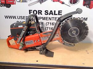 Husqvarna K760 Cut n break Gas Power Cutter Saw 9 Diamond Blades Plunge Saws