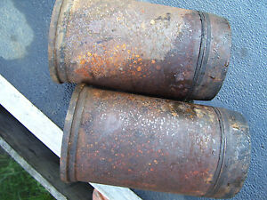 Vintage Oliver 550 Gas Tractor Engine Sleeves X 2 3 5 8 Id