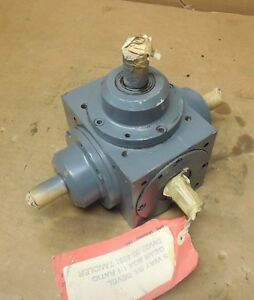 Tandler 01 2a Xh s515 5 way Right Angle R l Bevel Gearbox Speed Reducer 1 1