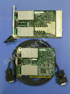 National Instruments Pxi 8331 Pci 8331 Ni Mxi 4 Interface Cards With Cable