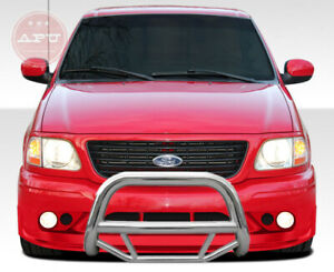 Fits 1997 2004 Ford F150 F250 Stainless Bull Bar Brush Bumper Grille Guard