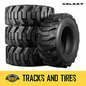 12 16 5 12x16 5 Galaxy Xd 2010 12 ply Skid Steer Tires Pick Your Rim Color