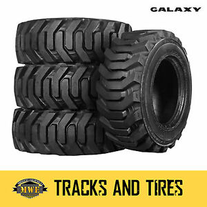 10 16 5 10x16 5 Galaxy Beefy Baby Iii 10 ply Skid Steer Tires Pick Rim Color