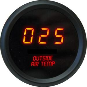 Intellitronix Led Digital Outside Air Temperature Gauge 2 1 16 M9123r