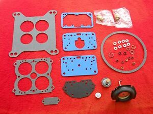 Holley Mopar 4160 Series Carb Rebuild Kit For 585 Cfm Vs