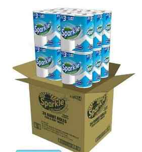 Sparkle Paper Towels Bulk Select Pick A Size White Case 24 Large Giant Rolls