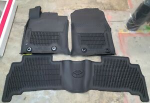 Oem All Weather Mats Liners 2013 2014 2015 2016 2017 2018 2019 Toyota 4runner