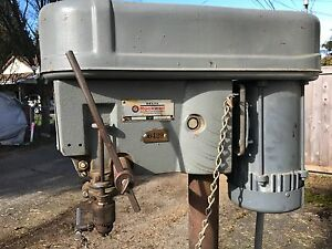 Delta Rockwell Drill Press 15 017 motor 115 Volts 1 2 Hp