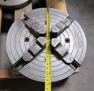 9 South Bend Lathe Wks 4 Jaw Chuck No 4209 53 Skinner