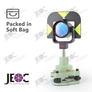 Single Prism Tribrach Set Gpr121 Reflector For Leica Total Station Surveying