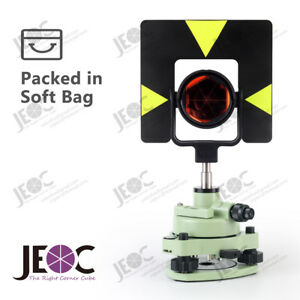 Single Prism Tribrach Set Gpr1 Reflector For Leica Total Station Surveying