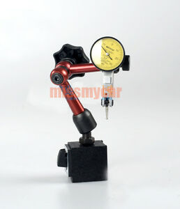 Dial Test Indicator 0 01mm Accuracy And Magnetic Base For Measuring Lathe Tools