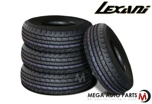 4 X New Lexani Lxht 106 P265 65r17 110t All Season Performance Suv Truck Tires