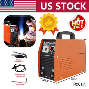 Zx7 200 Igbt Dc Inverter Welding Portable Mma Arc Welder Soldering Machine Usa