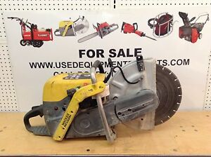 Wacker Neuson Bts635s 14 Cut off Saw Diamond Blade Concrete Gas Power Cutting